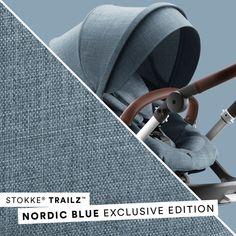 Stokke® Trailz™ Nordic Blue Exclusive Edition all-terrain stroller