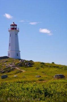 Louisbourg Light Cape Breton Nova Scotia