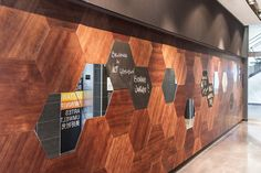 The Alt Hotel Montreal Griffintown is located in a large real-estate complex in one of the most lively districts of Montreal. Montreal Architecture, Architecture Design, Lobby Reception, Concrete Wood, Of Montreal, Hotel Lobby, Hospitality, Real Estate, Mirror