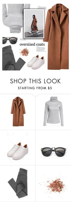 """""""Chic Oversized Coats"""" by meyli-meyli ❤ liked on Polyvore featuring Cheap Monday, Topshop, casual, coat, oversizedcoats and rosegal"""