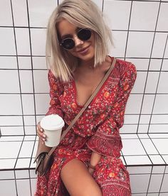 Find More at => http://feedproxy.google.com/~r/amazingoutfits/~3/obdsj7fAcDs/AmazingOutfits.page Boho Fashion, Cute Fashion, Fashion Beauty, Fashion Outfits, Womens Fashion, Fashion Clothes, Modest Fashion, Summer Outfits, Cute Outfits