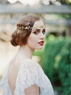 Jewelry & Accessories Genteel Romantic Crown Indian Style Hair Jewelry Accessories Head Chain Bohemia Leaves Forehead Fringed Headband For Women