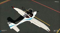 Aquila A211 with Garmin G500 KLM Aeroclub