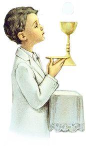 Dibujos. Clipart. Digi stamps - Niño Primera Comunión