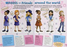 Shawna JC Tenney: Girl Guides from Around the World! Girl Scout Swap, Girl Scout Troop, Brownie Girl Scouts, Girl Scout Cookies, Boy Scouts, Scout Leader, Brownies Girl Guides, Brownie Guides, Guides Uniform