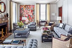 Steven Gambrel Imbues A Storied Manhattan Duplex With His Signature Style