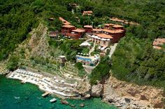 tuscany Relais & Chateaux Il Pellicano - Porto Ercole, Tuscany, Italy - Exclusive 5 Star Luxury Resort Hotel