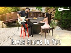 Yiruma - River Flows In You - Electric Guitar & Piano Cover by Kfir Ochaion feat. Learn Piano Beginner, River Flow In You, Guitar Riffs, Piano Cover, Elementary Music, Music Education, Guitar Lessons, Itunes, Outdoor Furniture Sets