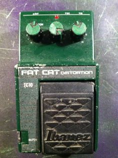 Ibanez FC 10 Fat Cat Overdrive Distortion