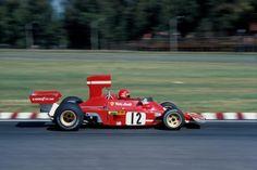 Niki Lauda (Ferrari) Grand Prix d'Argentine - Circuit Oscar Alfredo Galvez 1974