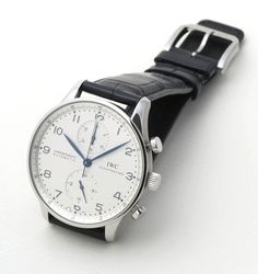 IWC Portuguese Chronograph #Watches  I LOVE IT!!!
