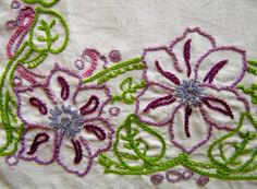 chain stitch family » Sarah's Hand Embroidery Tutorials