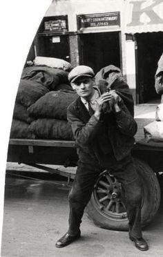 Coal merchant, The Netherlands, 1932.