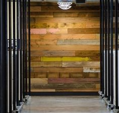 muri rivestiti in legno