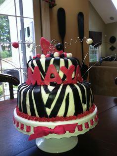 tween birthday cake