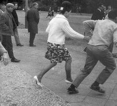 prmiere évasion du mur de Berlin