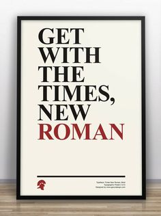 UK-based freelance graphic designer Gary Nicholson created a series of posters with typographical jokes to humor fellow designers.