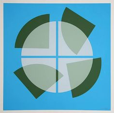 Serigraph. Limited Edition of 50 by Herbert Bayer c.1969
