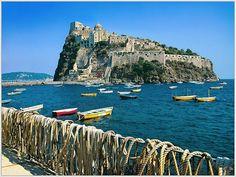 vacation travel photos - Aragonese Castle, Isle of Ischia, Italy