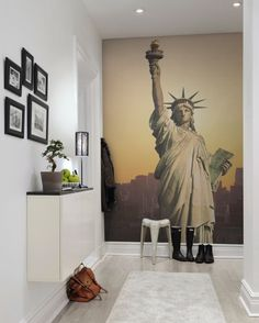Wall mural R10651 Statue of Liberty