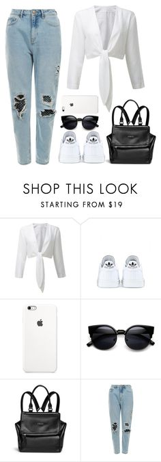 """""""Outfit of the day"""" by direction-of-the-summer ❤ liked on Polyvore featuring adidas, Givenchy and ootd"""