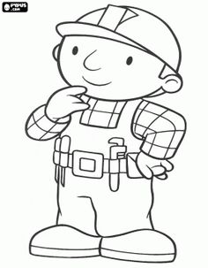 Bob the Builder coloring page and others