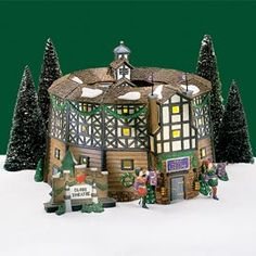 dept. 56 globe theater