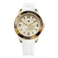 Relógio Feminino Aço e Silicone Branco Tommy Hilfiger - 1781542