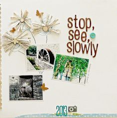 6 Ways to Embellish Scrapbook Pages Using a Series Cluster | Sian Fair | Get It Scrapped