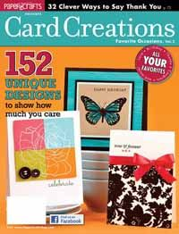 Card Creations: Favorite Occasions, Volume 2 reduced price $3.99