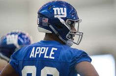 Among the notable New York Giants inactives for Thursday night's game against the Washington Redskins was a name that wasn't expected to be on the list without an injury: cornerback Eli Apple....