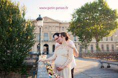 Photographe femme enceinte originale paris