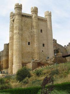 Castle In Valencia De Don Juan, León,  Spain