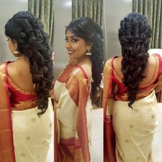 17 Best Indian Hairstyles by Hairstyling Salons and V-loggers in India Salons, Trends, Indian Hairstyles, Dreadlocks, Wonder Woman, Hair Styles, Monkey, Beauty, Lifestyle