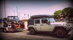 Jeep Top Tent Jeep Tent, Jeep Camping, Top Tents, Roof Top Tent, Roof Rack, Vehicles, Car, Automobile