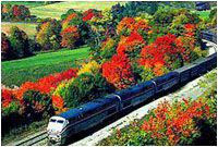 New England Fall Colors Rail Spectacular - Rail Tours In The United States