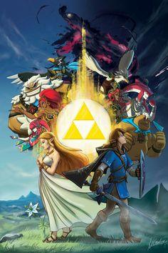 Legends of Zelda: Breath of the Wild