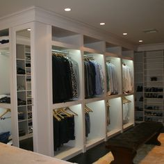Allison Road - modern - closet - miami - The Closets Company