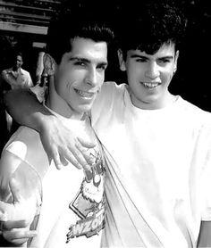Danny Wood and Jordan Knight
