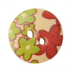 100 pc wooden painted buttons for by Kiteland on Etsy (free international shipping with coupon code PERUFREE )min.$10.00