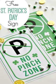Free Printable St. Patrick's Day Sign