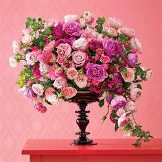 Lewis Miller Design - pink roses