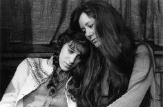 "Sarah Jessica Parker and Mary McDonnell in ""THE DEATH OF A MINER"" by Paula Cizmar and Directed by Barbara Rosoff, produced by WPT in 1982."