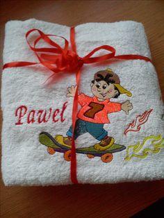 ręcznik  w prezencie