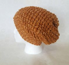 Hey, I found this really awesome Etsy listing at https://www.etsy.com/listing/489279066/dappled-rust-bumpy-slouch-hat