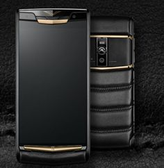 Authentic-Vertu-Signature-Touch-PURE-JET-RED-GOLD-Unlocked-Smartphone