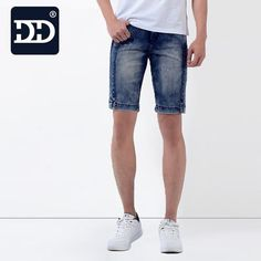 2016 Factory washed Brand New exclusive design slim fit men shorts jeans men summer nice and cool short jeans pants for men
