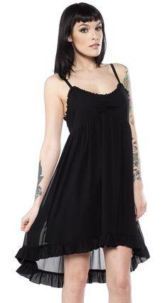 Dolly High Lo [Black] | DRESS