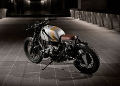 """The Gentleman over at ER Motorcycles have created another masterpiece with theirBMW R100 RT """"Stannum""""This custom built 1981 BMW Boxer style motorcycle isoutfitted with an ER custom seat, fenders..."""