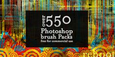 ArbentingOver 550 Photoshop Brush Packs For Commercial Use